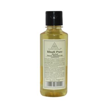 Khadi Pure Herbal Sweet Almond Oil