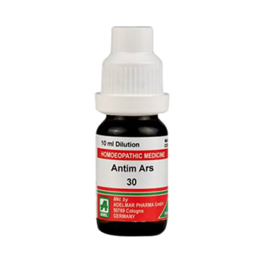 ADEL Antim Ars Dilution 30 CH