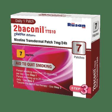 2baconil 7mg Nicotine Patch Step 3