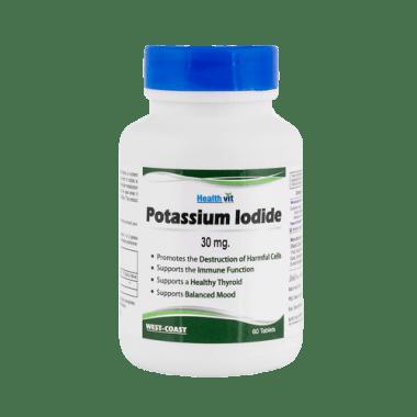 HealthVit Potassium Iodide 30mg  Tablet