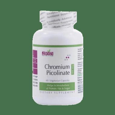 Zenith Nutrition Chromium Picolinate 800mcg Capsule