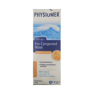 Physiomer Hypertonic Nasal Spray