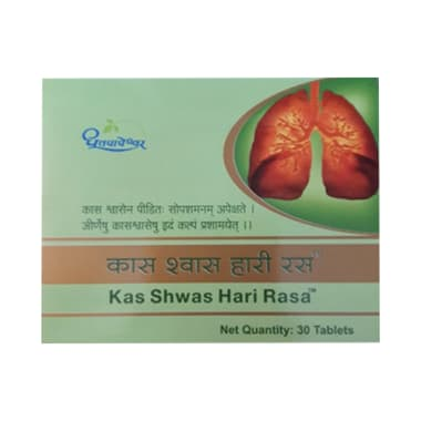 Dhootapapeshwar Kas Shwas Hari Rasa Tablet