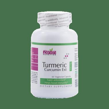 Zenith Nutrition Turmeric Curcumin Ext 300mg Capsule