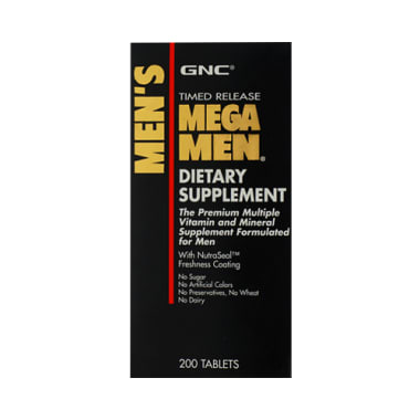 GNC Mega Men Multiple Vitamin and Mineral Tablet