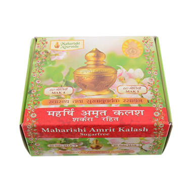 Maharishi Amrit Kalash 4 Tablet Sugar Free
