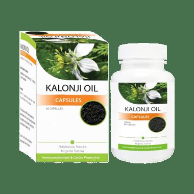 Shivalik Herbals Kalonji Oil 500mg Capsule