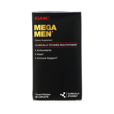 GNC Mega Men Dietary Supplement Multivitamin Caplet