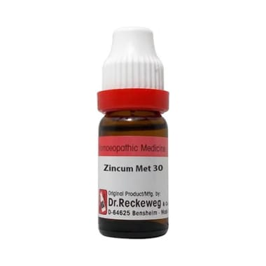 Dr. Reckeweg Zincum Met Dilution 30 CH