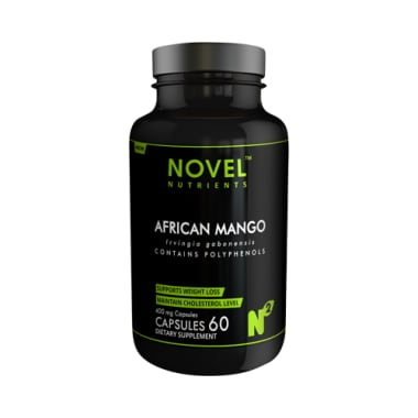 Novel Nutrients African Mango 400mg Capsule