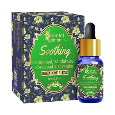 Oriental Botanics Soothing Aroma Therapy Diffuser Oil