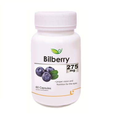 Biotrex Bilberry Extract 275mg Capsule