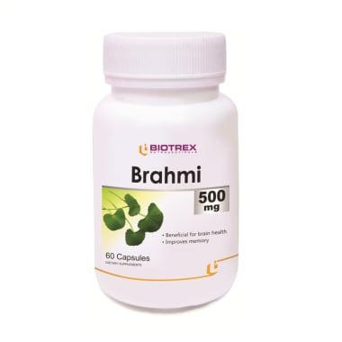 Biotrex Brahmi 500mg Capsule