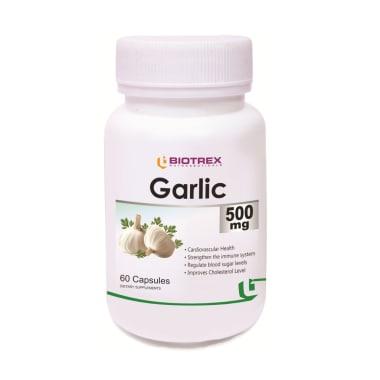 Biotrex Garlic 500mg Capsule