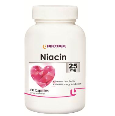Biotrex Niacin 25mg Capsule