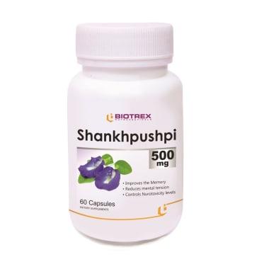 Biotrex Shankhpushpi 500mg Capsule