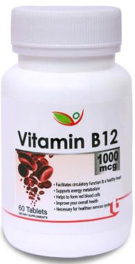Biotrex Vitamin B12 1000mcg Tablet