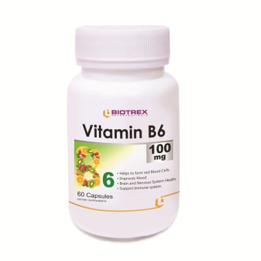 Biotrex Vitamin B6 100mg Capsule