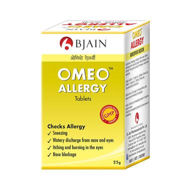 Bjain Omeo Allergy Tablet