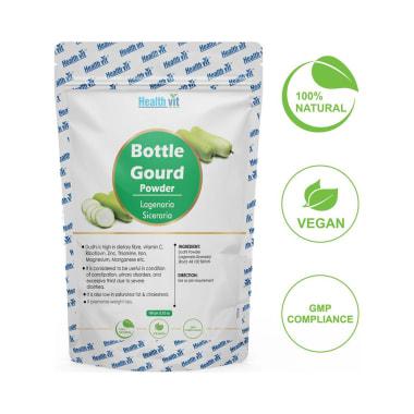 HealthVit Natural Bottle Gourd (Lagenaria Siceraria) Powder
