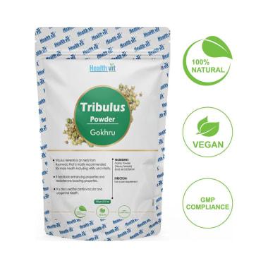 HealthVit Natural Tribulus (Gokhru) Powder