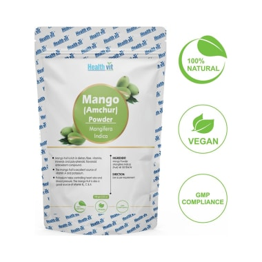 HealthVit Natural Mango (Mangifera Indica) Powder