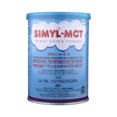 Simyl-MCT Spray Dried Powder