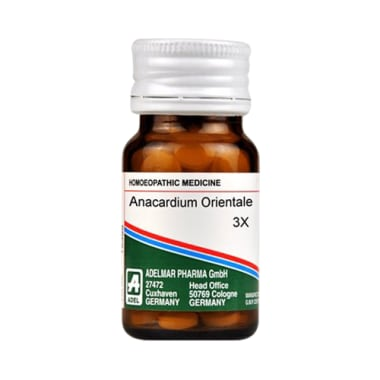 ADEL Anacardium Orientale Trituration Tablet 3X