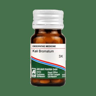 ADEL Kali Bromatum Trituration Tablet 3X