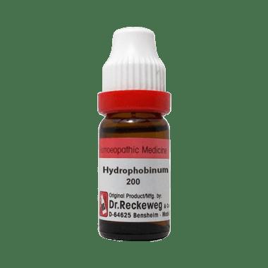 Dr. Reckeweg Hydrophobinum Dilution 200 CH