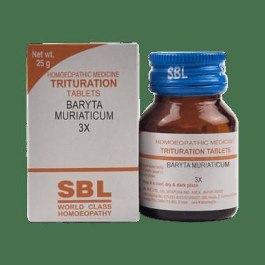 SBL Baryta Muriaticum Trituration Tablet 3X