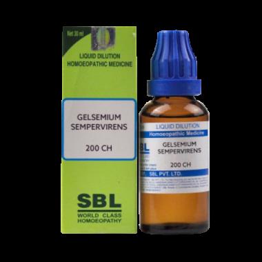 SBL Gelsemium Sempervirens Dilution 200 CH