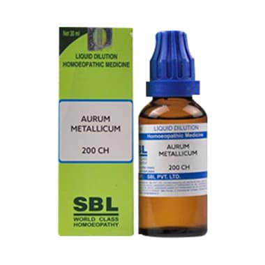 SBL Aurum Metallicum Dilution 200 CH