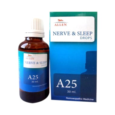 Allen A25 Nerve And Sleep Drop