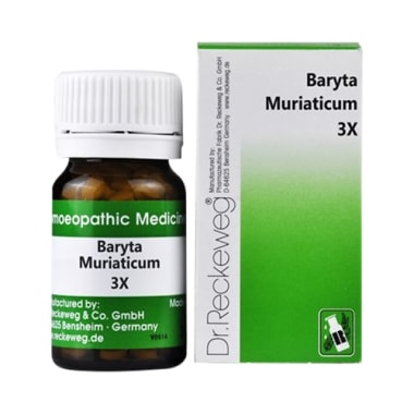 Dr. Reckeweg Baryta Muriaticum Trituration Tablet 3X