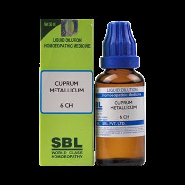 SBL Cuprum Metallicum Dilution 6 CH