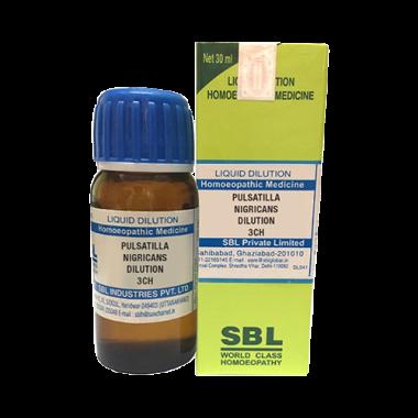 SBL Pulsatilla Nigricans Dilution 3 CH