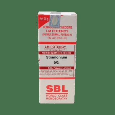 SBL Stramonium 0/3 LM