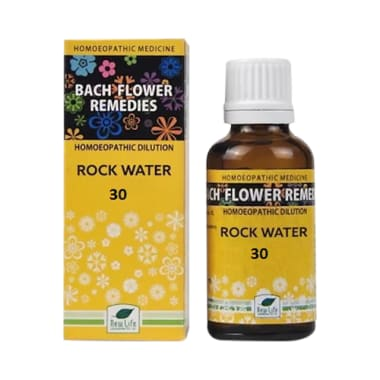 New Life Bach Flower Rock Water 30