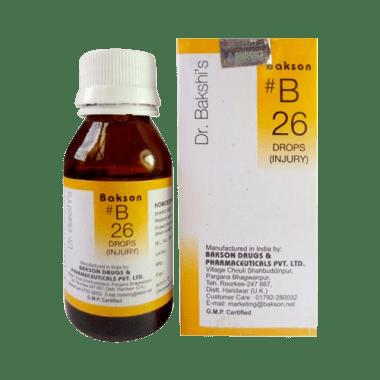 Bakson's B26 Injury Drop