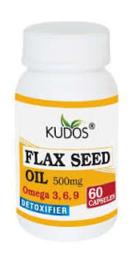 Kudos Flax Seed Oil Capsule