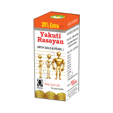 Basic Ayurveda Yakuti Rasayan with Gold & Pearl