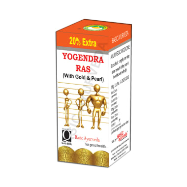 Basic Ayurveda Yogendra Ras with Gold & Pearl
