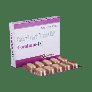 Coralium-D3 टैबलेट