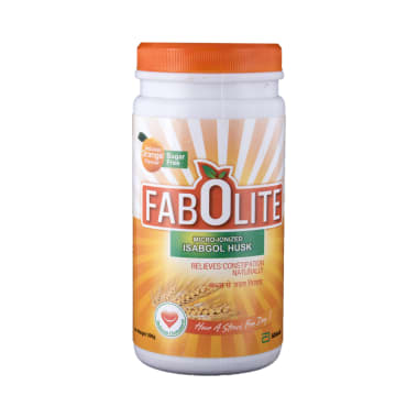 Fabolite Powder Orange Sugar Free