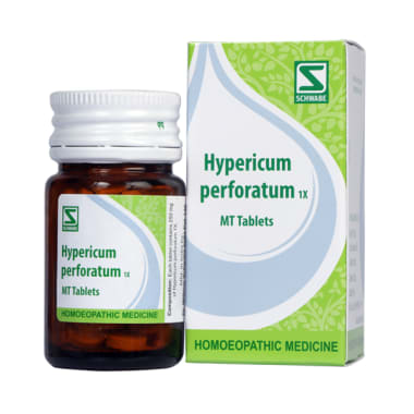 Dr Willmar Schwabe India Hypericum Perforatum Tablet 1X