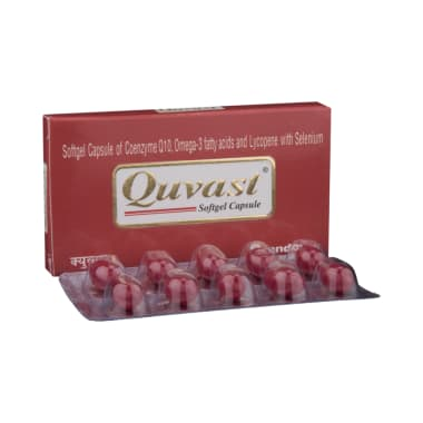 Quvast Softgel Capsule