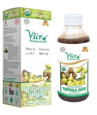 Vitro Naturals Certified Organic Triphala Juice