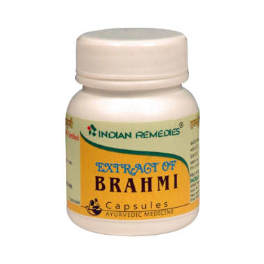 Indian Remedies Extract of Brahmi Capsule