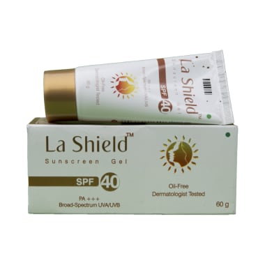 La Shield Sunscreen Gel SPF 40